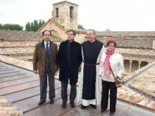 Finaliza la restauración del claustro plateresco del Monasterio de Santa María de Huerta, en Soria