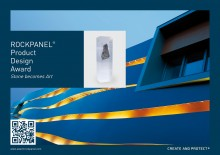 "Premio de diseño ""Stone becomes Art"" de ROCKPANEL"