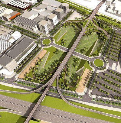 Se construye el viaducto que dotará de un nuevo acceso entre Viladecans y el sector de Ca n'Alemany, estratégico para la economía del Baix Llobregat
