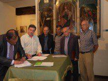 Inicio de las obras de restauración de las salas capitulares de la Catedral Vieja de Salamanca