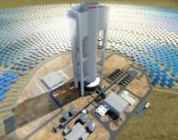 Abengoa completa la construcción de la primera torre termosolar de Sudáfrica, Khi Solar One