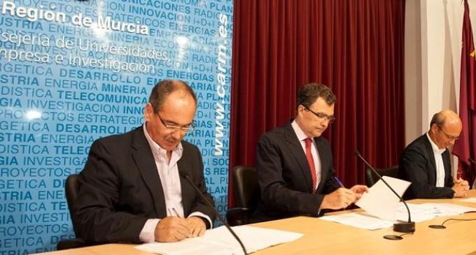 La Comunidad de Murcia firma un convenio con el Centro Tecnológico de la Construcción para favorecer la innovación