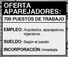 Se ofrecen 700 puestos de trabajo