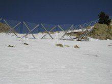 Licitación la instalación de barreras antialudes en la Val d'Aran y el Pallars Sobirà