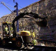 Adif licita la mejora de las trincheras de la línea de ancho convencional Alcázar de San Juan-Sevilla