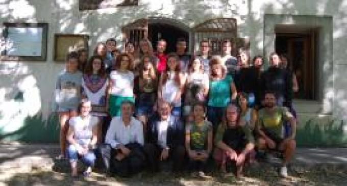Difusión de la bioconstrución en As Corcerizas, en Vilar de Barrio