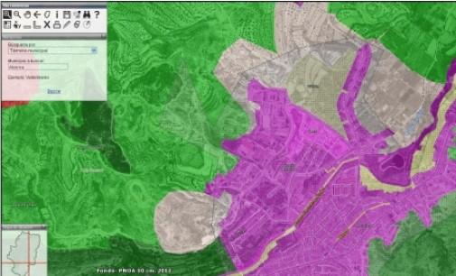 La información cartográfica de todos los municipios aragoneses, accesible en Internet