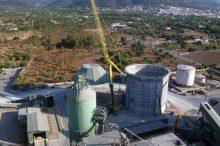 CEMEX invierte en mejoras medioambientales con la construcción de un nuevo silo de clínker en su fábrica de Lloseta