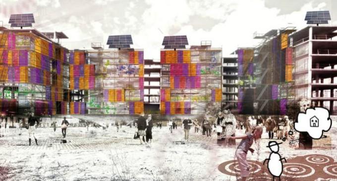 Un proyecto que emplea estructuras abandonadas gana el II Concurso de Arquitectura Social