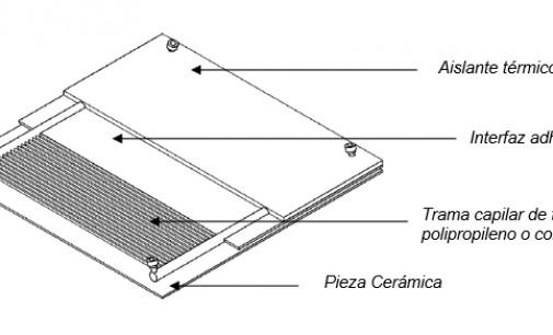 Nuevo sistema de climatización utilizando paneles cerámicos