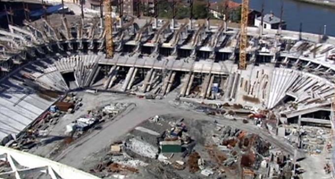 Salarios un 30% por debajo de Convenio en la obras del Estadio de San Mamés