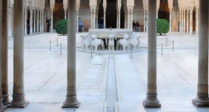 El proyecto de restauración del Patio de los Leones, premio del periódico Ideal