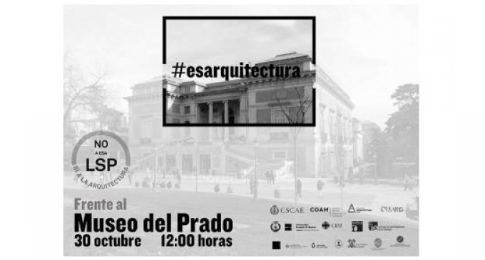 El CSCAE convoca a los arquitectos «Frente al Museo del Prado»