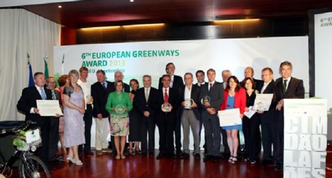 Tres Vías Verdes españolas son galardonadas en el 6º Premio Europeo de Vías Verdes