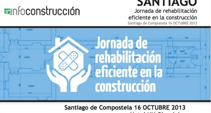 Jornada de rehabilitación eficiente en la construcción en Santiago de Compostela