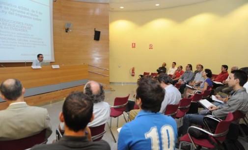 El INFO y el Centro Tecnológico de la Construcción presentan las ayudas para los proyectos de I+D+i a los empresarios de la construcción de Murcia