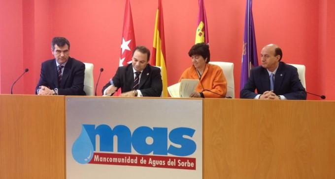 El MAGRAMA firma un convenio para la construcción y explotación de la Tercera Conducción de la Mancomunidad del Sorbe (Guadalajara) con una inversión de 61,1 millones