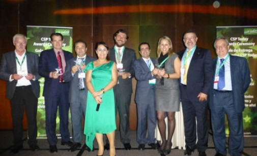 Abengoa recibe el premio CSP Today Industry Choice