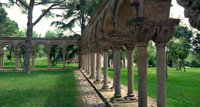 El claustro de Palamós procede de la antigua catedral de Salamanca