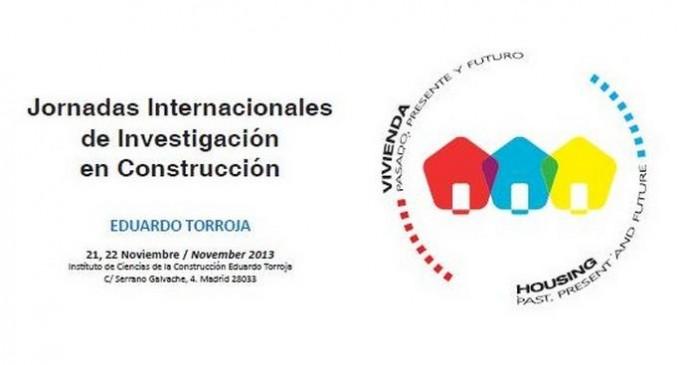 Jornadas Internacionales de Investigación en Construcción Eduardo Torroja