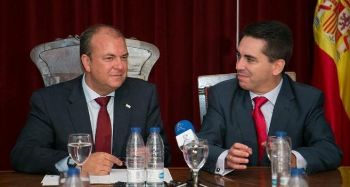 Monago destaca la importancia de mantener las infraestructuras existentes
