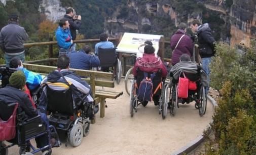Europa premia al Gobierno de Aragón por la accesibilidad turística de Guara