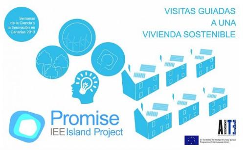 El proyecto PROMISE promueve Visitas Guiadas a una vivienda sostenible