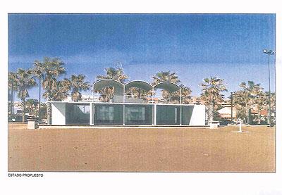Los restaurantes del Paseo Marítimo de Valencia tendrán terrazas en la planta segunda