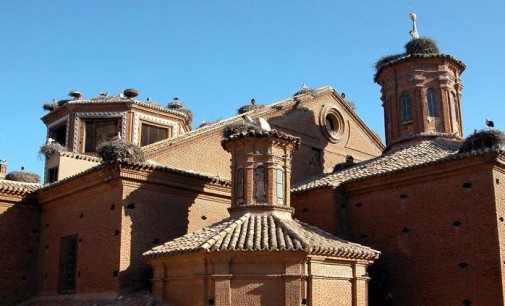 Inversión en la Colegiata de Alfaro de 100.000 euros para reordenar los nidos de cigüeña