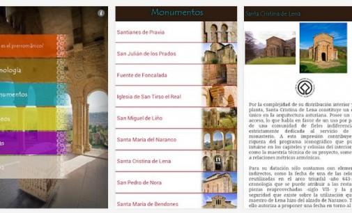 Aplicación Prerrománico Asturiano, información de los monumentos en tu móvil
