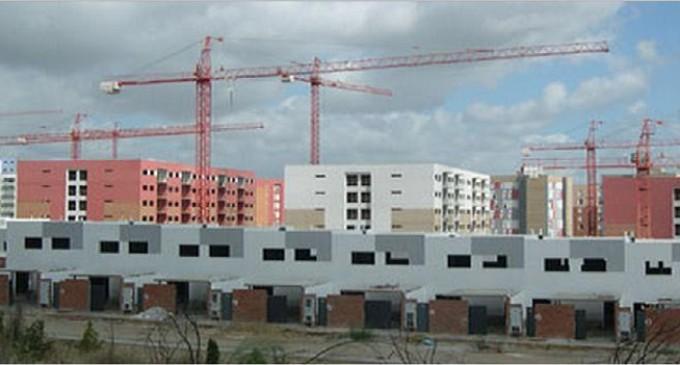 Cae la actividad de la construcción cae en Extremadura un 33%
