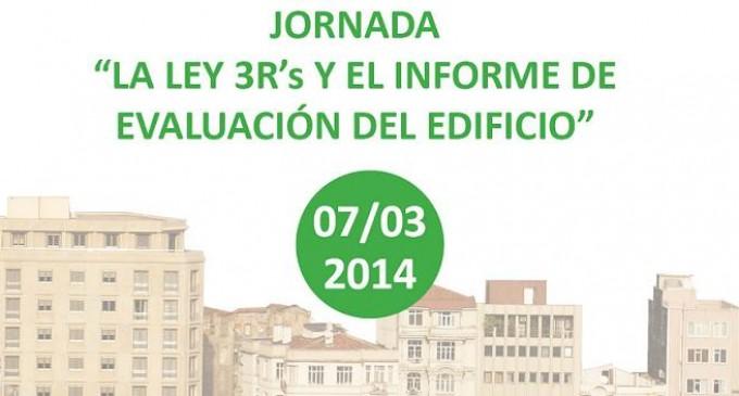 Jornada Gratuita sobre la Ley de Rehabilitación, Regeneración y Renovación Urbanas y el Informe de Evaluación del Edificio (IEE)
