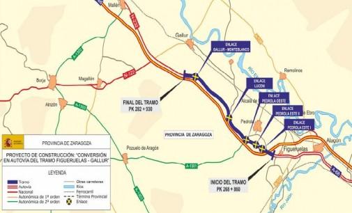 Fomento aprueba los proyectos de trazado de la autovía A-68