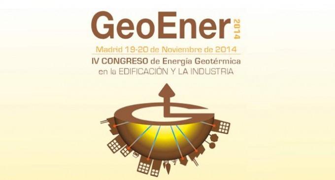 IV Congreso de Energía Geotérmica en la Edificación y la Industria