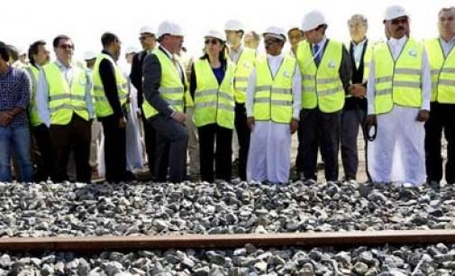 Pastor visita las obras de alta velocidad del Consorcio Español en Arabia Saudí