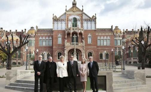 Inauguradas las obras de rehabilitación del Hospital de la Santa Creu i Sant Pau
