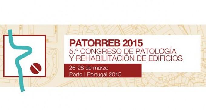 PATORREB 2015. 5º Congreso de Patología y Rehabilitación de Edificios