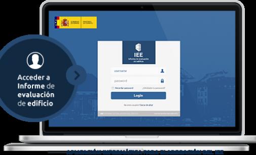 Nueva aplicación informática para el cumplimiento del Informe de Evaluación de los Edificio
