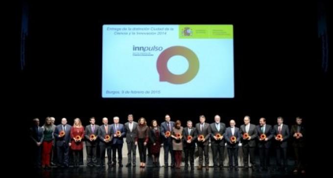 Entrega de las distinciones 'Ciudad de la Ciencia y la Innovación 2014'