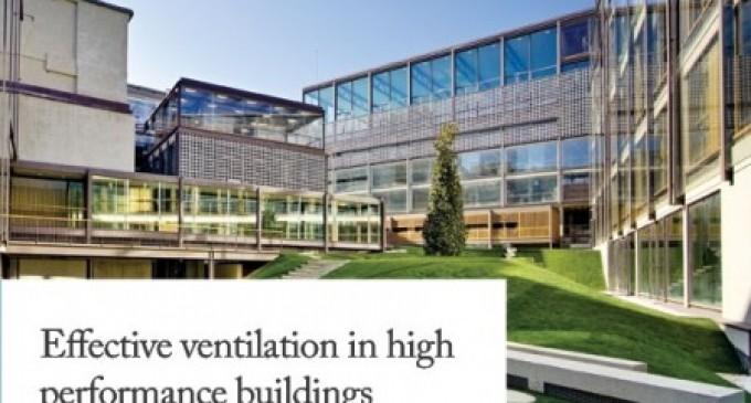 Congreso «Effective ventilation in high performance buildings»