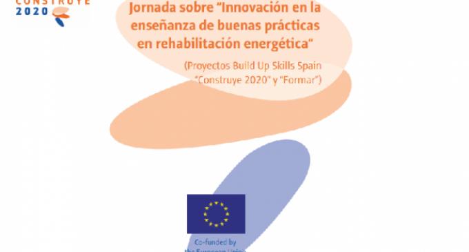 """Jornada """"Innovación en la enseñanza de buenas prácticas en rehabilitación energética"""""""