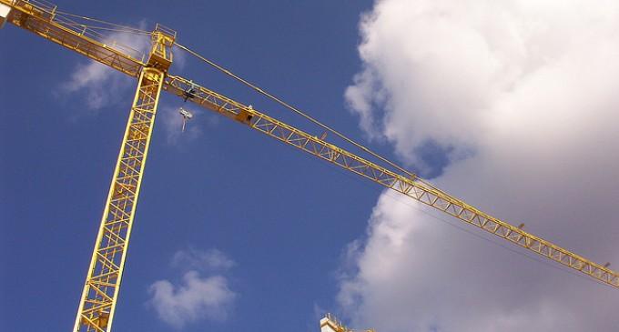 La construcción encabeza el crecimiento sectorial