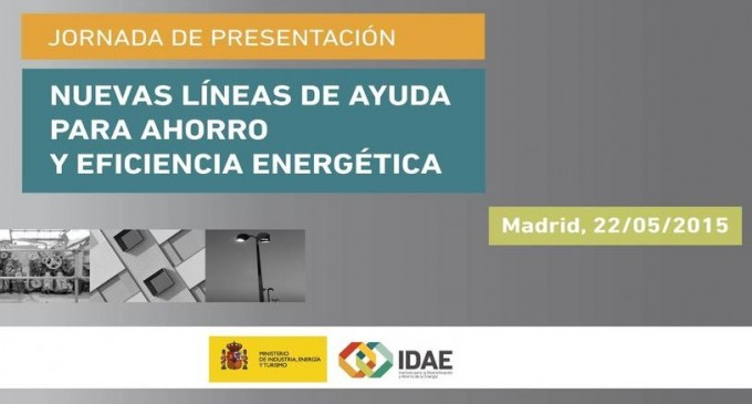 Jornada gratuita online del IDAE: «Líneas de ayuda para ahorro y eficiencia energética»