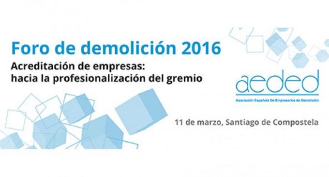 Foro de demolición 2016