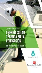 Jornada FENERCOM sobre Energía Solar Térmica en la Edificación