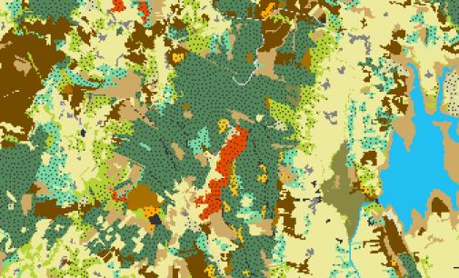 La Junta activa un conjunto de datos sobre los usos y ocupación del suelo