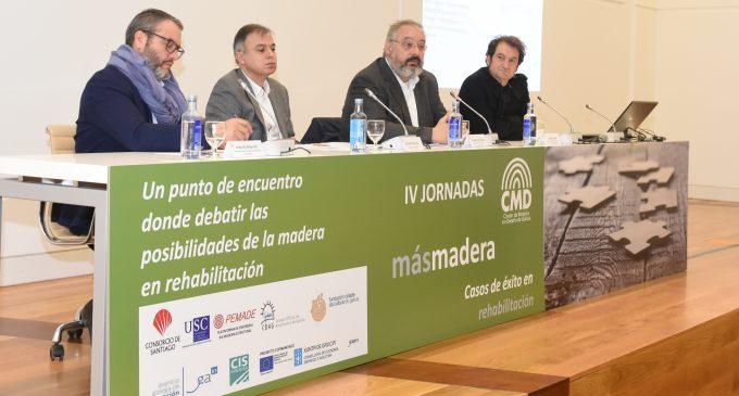 IV Jornadas de Rehabilitación del Cluster da Madeira e o Deseño de Galicia (CMD)