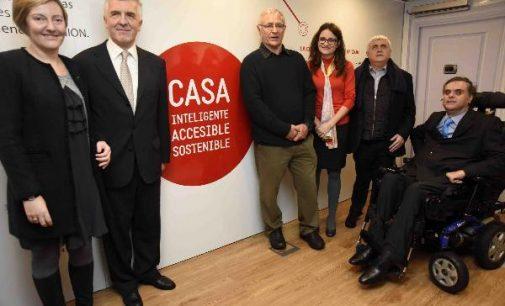 ONCE expone en Valencia una casa inteligente, sostenible y accesible
