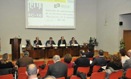 Presentación de la nueva Instrucción para la recepción de cementos RC-16