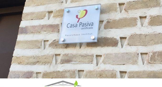 Primera vivienda certificada Passivhaus en Castilla y León